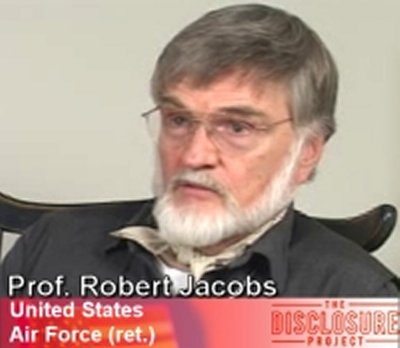 Professor Robert Jacobs, Lt. US Air Force